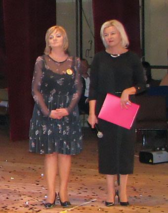 Ewa Jabłońska, Anetta Bikowska - nowe radne pochodzące z Klubu Kobieta 2000